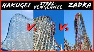 Hakugei Vs Steel Vengeance Vs Zadra - battle of the giant ...