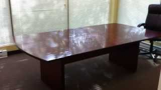 Staples Conference Table Installation Service Video In Reston Va By Furniture Assembly Experts Llc