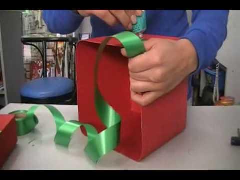 Caja para regalos caja roja 1 parte youtube for Como hacer cajas para regalos de boda