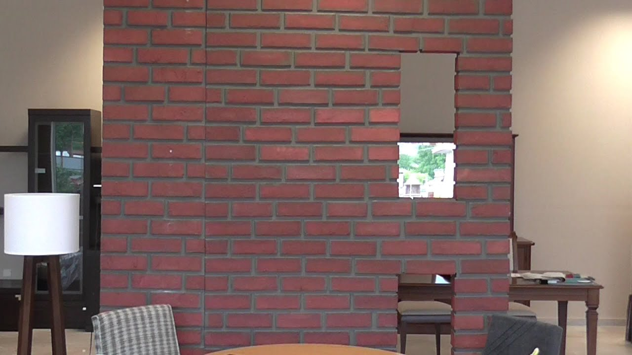 Diy Fake Brick Wall By Recycled Material ,mdf,   YouTube