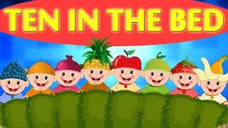 Ten In The Bed   Nursery Rhymes For Toddlers by Kids Baby Club