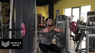 Front Squat - Musclemesh Egzersiz Hareketleri - Bacak