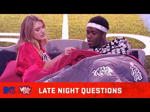 Jennifer Lopez & A-Rod 🍆 Share Pillow Talk | Wild N Out | #LateNightQuestions