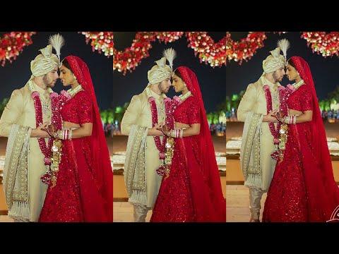 Priyanka Chopra and Nick Jonas wedding in Indian style latest Pics video Lifestyle story
