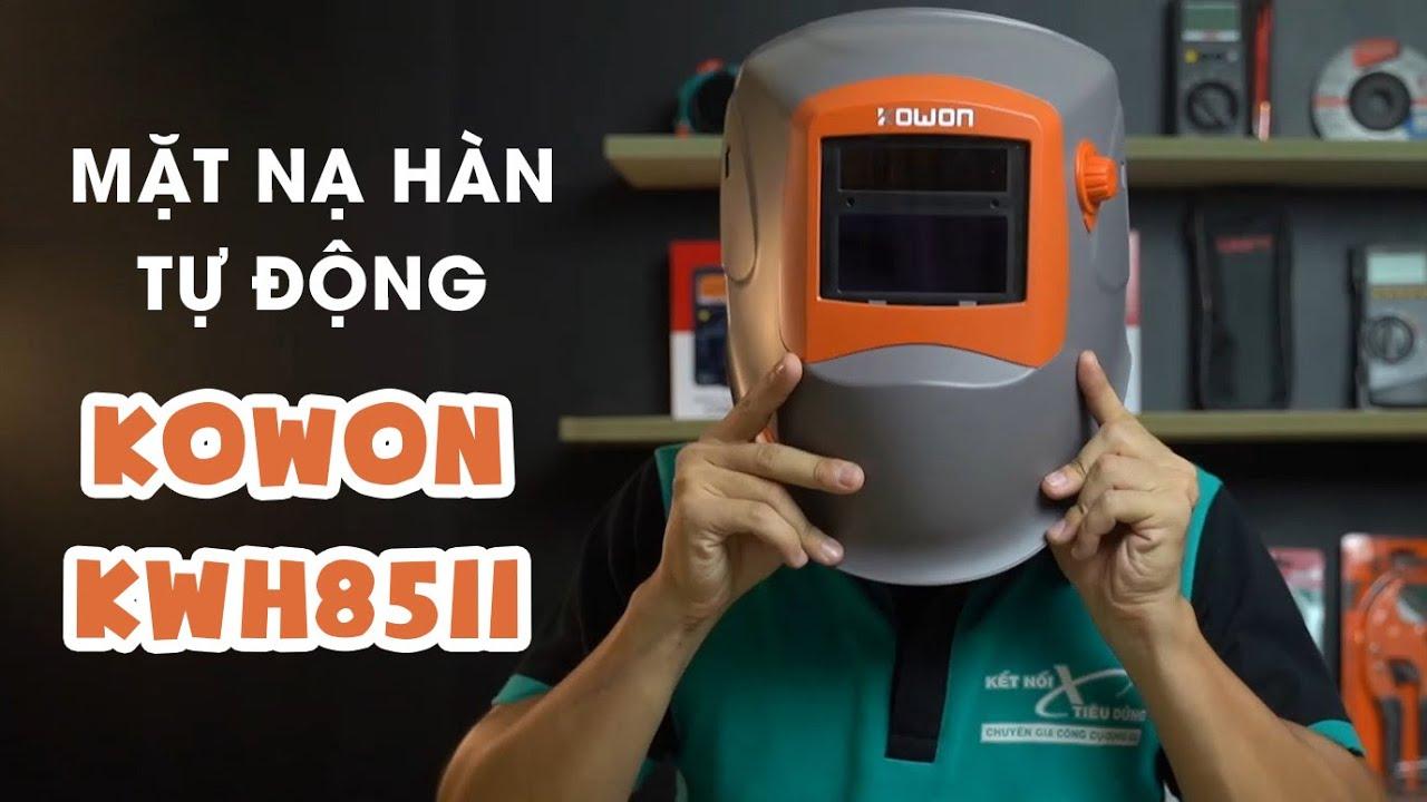 Mặt nạ hàn điện tử Kowon KWH8511 – Phụ kiện KHÔNG THỂ THIẾU