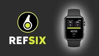 REFSIX Demo - Football/Soccer Referee App