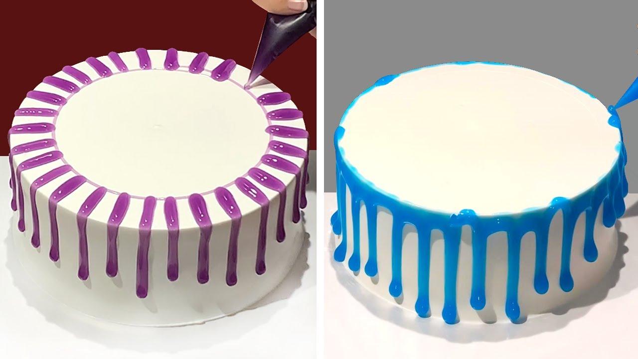 Easy & Beautiful Cake Decorating Ideas for Everyone | Yummy Chocolate Cake Tutorials | So Yummy