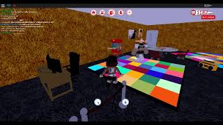 My bff dancing chacha slide on roblox