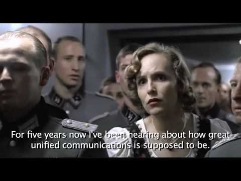 Hitler Not Happy With Unified Communications