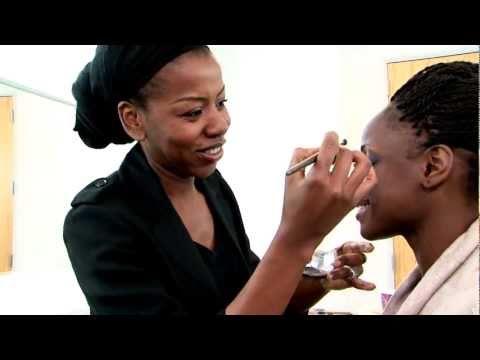Dark Skin Makeup Tutorial (pt1) - Smokey Eyes