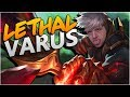 I AM THE SON OF LEGOLAS - Lethality Varus ADC Guide Season 8 - League Of Legends