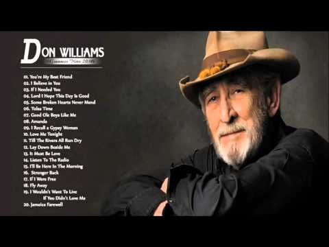 Don Williams Greatest Hits - Best Of Songs Don Williams (MP3/HD)