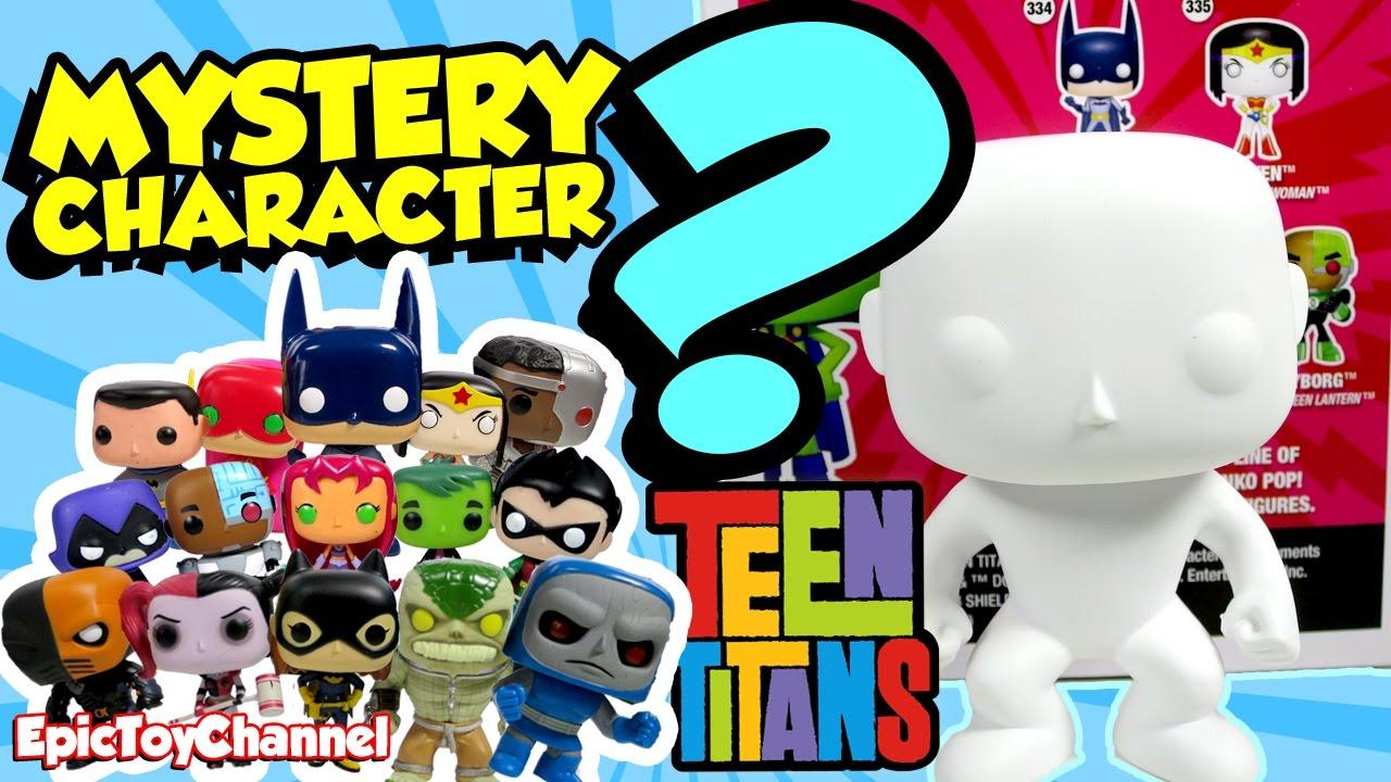 Teen Titan Character Toys : Teeny titans mystery surprise pop character teen