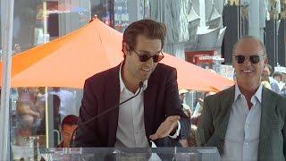 Sean Douglas Speech at Michael Keaton's Hollywood Walk of Fame Star Unveiling