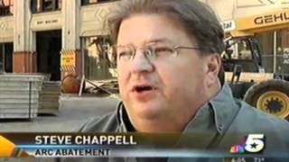 ARC Abatement's Steve Chappell Interviewed about Implosion Preparation