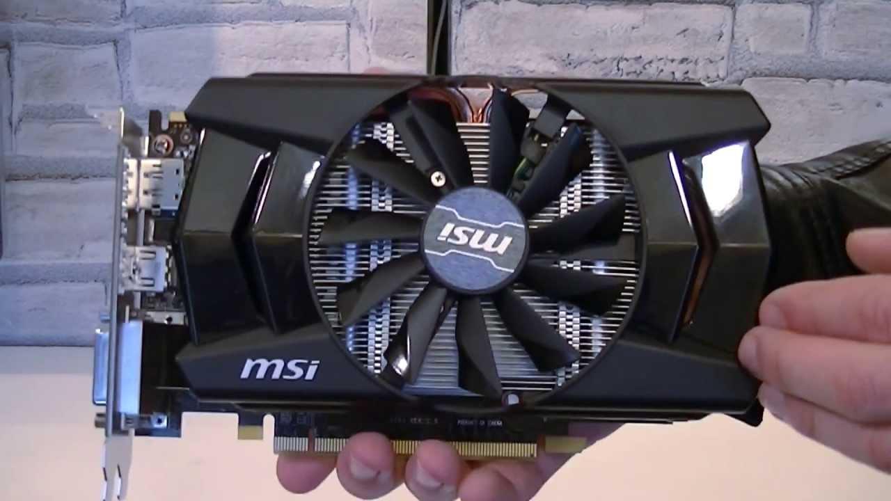 MSI AMD Radeon R7 260X 2GB GDDR5 Graphics Card Unboxing