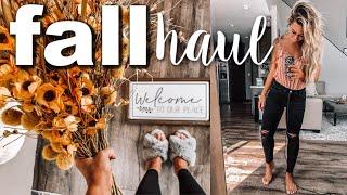 FALL HOME DECOR HAUL | HOBBY LOBBY + HOME GOODS