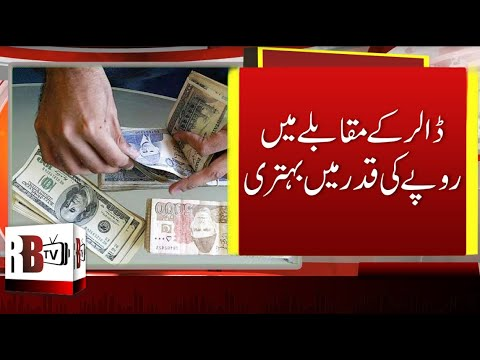 Pakistani Rupees Rises | US Dollar Hits Last 5 Month Lowest Value, USD TO PKR, PKR VALUE | RBTV