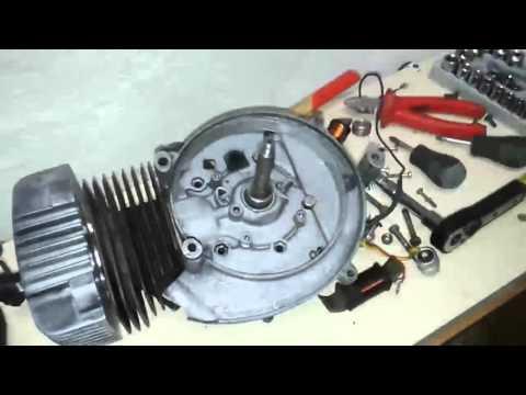 Smontaggio motore Ciao (Piaggio)