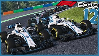 THE WILLIAMS MOVING CHICANE | F1 2018 Williams Career Mode Ep. 12 | Hungarian Grand Prix