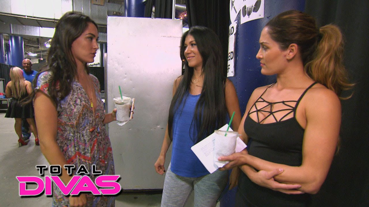 rosa mendes talks to the bella twins about her boyfriend: total