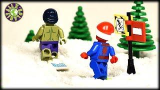 Lego Hulk, Spider-man, Iron man on Vacation