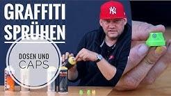 Graffiti - Sprühdosen & Caps zum sprühen - Graffiti Coach