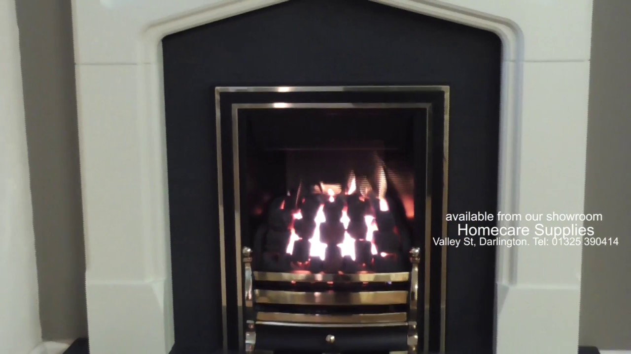 nuflame energis hotbox inset gas fire from homecare supplies youtube