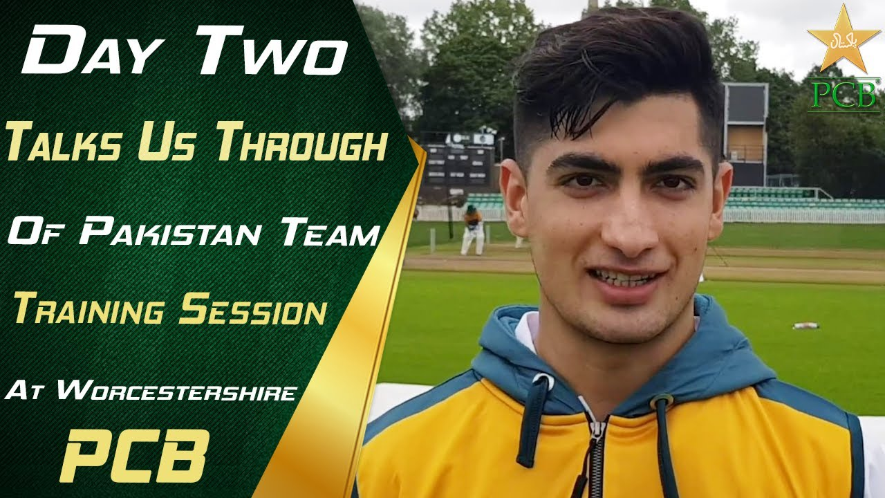 Download Day Two Of Pakistan Team Training Session At Worcestershire | PCB