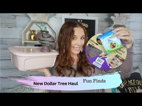 Dollar Tree Haul August 10 2019 Great new finds