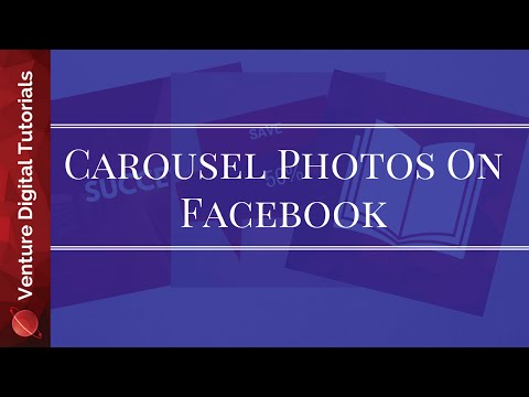 Create Carousel Photos For Facebook Pages - How To