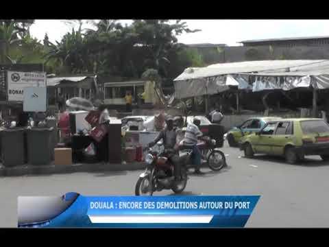 Douala : encore des démolitions autour du port