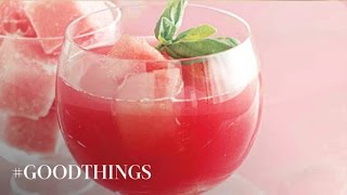 Good Things: Watermelon-basil Margarita Recipe - Martha Stewart