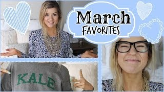 March Favorites: Makeup, Clothes, Books, TV & MORE!