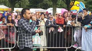 Milad Raza Qadri in Bradford Eid Festival July 2016