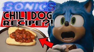 Chili Dog A La SONIC?! Sonic the Hedgehog's SECRET Chili Dog Recipe!