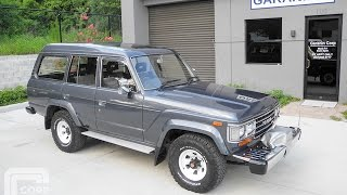 Toyota Land Cruiser HJ61V Turbo Diesel 12HT 4.0L Manual with PTO Winch 4x4 Museum Condition.