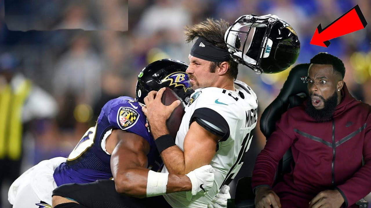 KNOCKED THEIR HELMETS OFF!  Crazy NFL Knocked Out Hits - download from YouTube for free