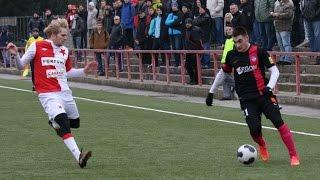 Zostrih z prípravného stretnutia SK Slavia Praha - AS Trenčín 1:2 (0:0)