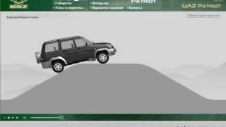 Мультимедиа-презентация «УАЗ» Патриот(В презентации, созданной для «УАЗ», видеоряд сопровождается описанием технических характеристик модели..., 2008-10-21T10:26:25.000Z)