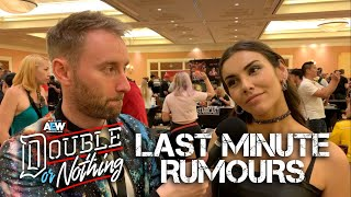 Last Minute AEW Double Or Nothing Rumours You Need To Know