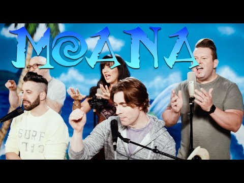 MOANA MEDLEY  VoicePlay Feat Rachel Potter