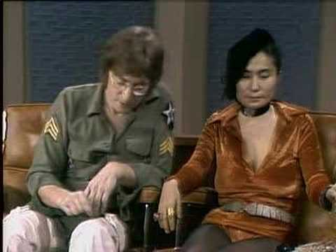 John Lennon And Yoko Ono Dick Cavett Show Excerpt 4 Of 6