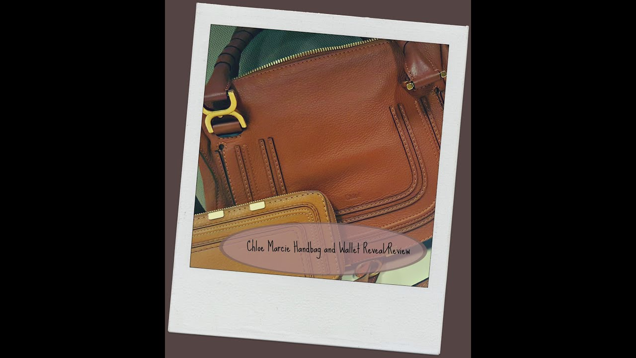 2aa5f4374a7 Chloe Marcie Handbag and Wallet Reveal/Review - YouTube