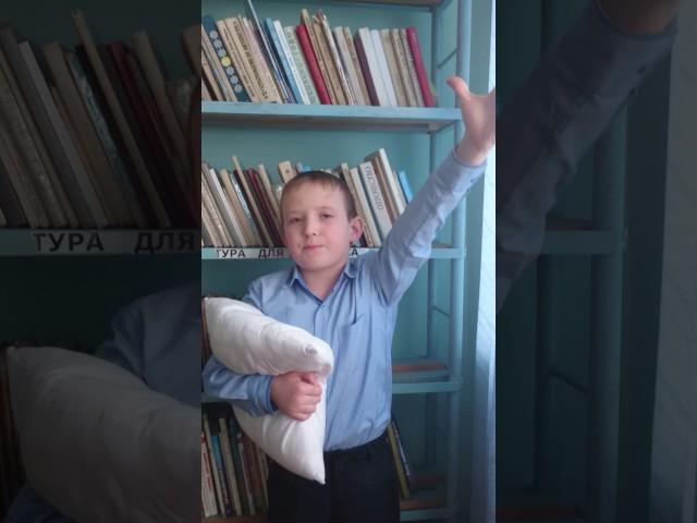 Изображение предпросмотра прочтения – МаксимГражданкин читает произведение «Подушечка» С.В.Михалкова