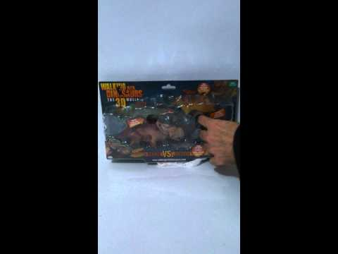 Walking with Dinosaurs the 3D movie PATCHI vs GORGON BBC EARTH VIVID TOY GROUP 2012