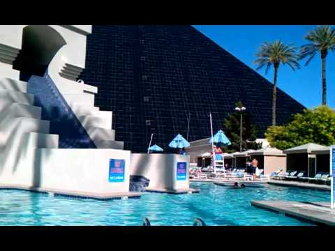 Pool at the luxor may 2011 youtube - Luxor hotel las vegas swimming pool ...