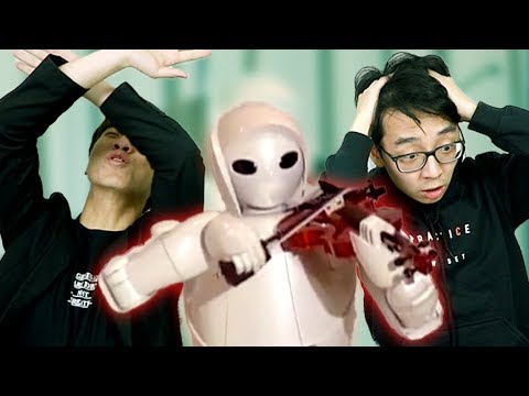 Reviewing Robots Playing Violin Very Sacrilegious