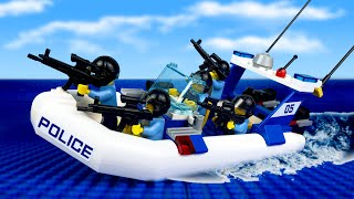 LEGO Police Chase & Prison Break | LEGO City Police Stories | All series