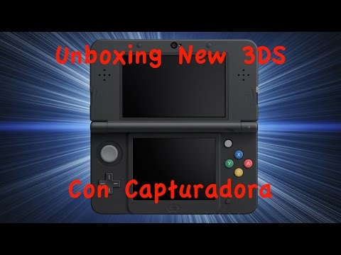 Unboxing New Nintendo 3DS con Capturadora